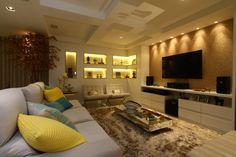 Confira agora as 33 melhores salas de estar com decoração es…