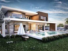 Vero Concept Architects – Güzelbahçe Villa: modern tarz Evler