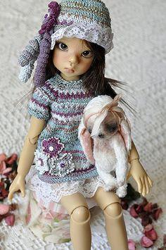 Продолжение тем: Вяжем для кукол - 2 Вяжем для кукол