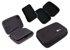 DURAGADGET Black Hard 5 Satnav Case for devices including Garmin Nuvi 2595LMT >>> Read more reviews of the product by visiting the link on the image.Note:It is affiliate link to Amazon.