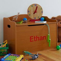 Celebrate Milestones With A Personalized Toy Box
