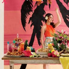 How to Throw a Luau Party. Always wanted to throw a luau? A luau can go from zero to bad theme restaurant in no time. Here's how to throw a party full of island-inspired authenticity. (Hint: Do not buy toy ukuleles in bulk.)
