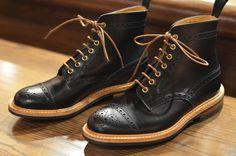 Tricker's - Black Eaton - $595