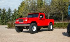 Jeep J-12 Concept Show up on Moab utah