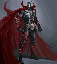 Spawn - Character art by George Vostrikov Spawn Characters, Comic Book Characters, Comic Character, Comic Books Art, Fantasy Characters, Spawn Comics, Dc Comics Art, Image Comics, Spawn Marvel