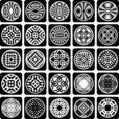 装飾的なデザイン要素です。パターンを設定します。抽象的なアイコン。ベクトル アート。 photo