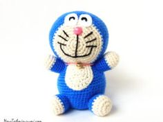 Amigurumi-Doraemon-Pattern