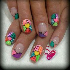 ideas for nails design primavera 2018 Blue Nails, Glitter Nails, Beach Toe Nails, Toe Nail Designs, Nails Design, Cat Nails, Super Nails, Cute Nail Art, Fabulous Nails
