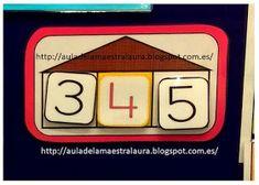 Aula de la maestra Laura: EL NÚMERO PROTAGONISTA II Ideas, Texts, Classroom, Board, Games, Thoughts