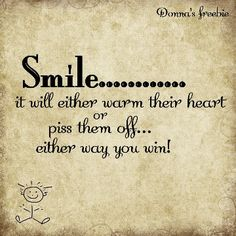 Smile......and whats it matter which it does