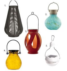 Light Up The Night With Power From The Sun: 5 Solar Outdoor Lanterns
