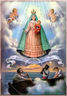Virgen de la Caridad del Cobre. The Cuban version of Mary. Yes, she is a Goddess in my eyes. :)