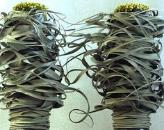 Untitled by Belgian floral designer Daniel Ost via contemporary basketry Daniel Ost, Modern Floral Design, Flora Design, Flower Show, Flower Art, Hotel Flowers, Weird Plants, Air Plant Display, Wave Art
