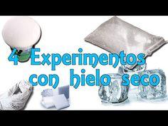 4 sencillos experimentos con hielo seco (Experimentos Caseros) - YouTube