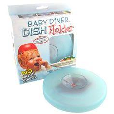 【美國Baby Diner Dish Holder 寶寶餐具強力吸盤架】$350  ★超強吸力的Baby diner-dish holder嬰兒用餐吸盤架 ★適用各種底部平滑的碗底