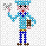 Deze kralenplank en vele andere in het thema postbode kun je vinden op de website van Juf Milou. Kindergarten, Lego, Stage, Symbols, School, Projects, Log Projects, Blue Prints, Kindergartens
