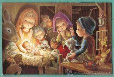 postal navideña 1969 Ilus.Peralta
