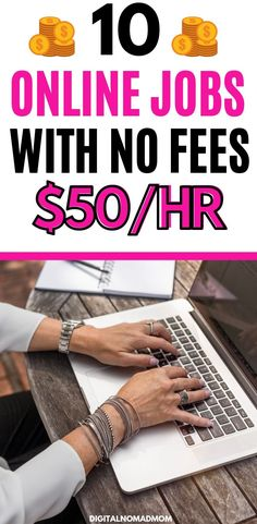 Online jobs with no fees seemed like something that wasn't real, until I actually found one. This list has 10 real ideas of ways to make money online without fees, because who wants to pay a monthly fee to make money?!