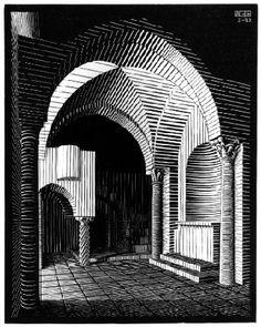 M.C. Escher – Porta Maria dell'Ospidale, Ravello 1932 - http://www.mcescher.com/gallery/italian-period/