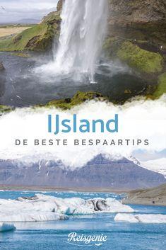 IJsland is misschien wel het mooiste land waar ik ooit ben geweest. Nergens zag ik zo'n overweldigde natuur als daar. Helaas staat IJsland bij veel mensen vooral bekend als een erg duur land. Zeker nu het land een steeds populairdere vakantiebestemming wordt, kan een reis naar IJsland vaak vrij prijzig zijn. Gelukkig kun je op veel dingen besparen, zodat je toch goedkoop naar IJsland kunt. Ik heb mijn beste bespaartips voor een reis door IJsland voor je op een rijtje gezet. Iceland Travel, Vintage Travel Posters, Niagara Falls, Finland, Denmark, Norway, Travel Inspiration, Waterfall, Places To Visit