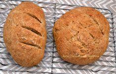 Το καθημερινό μας ψωμί Bread Art, Vegan Recipes, Cooking Recipes, Cookies, Food, Breads, Crack Crackers, Bread Rolls, Vegane Rezepte