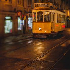 Hanenkamp-lissabon - Tram #28, Electrico, Lisbon, Portugal
