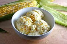 helado de maiz
