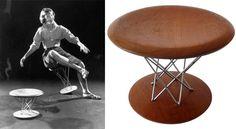 rocking stool Isamu Noguchi, Chairs, Artwork, Table, Furniture, Home Decor, Work Of Art, Decoration Home, Auguste Rodin Artwork
