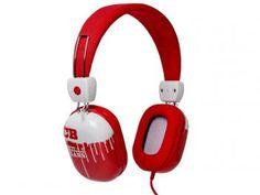 Fone de Ouvido Hipster - Chilli Beans - Potência150Wts; Impedância 32 ohms; Sensibilidade 108 dB; Plugue de fone alto-falante 3,5 mm; Stereo Ouro.