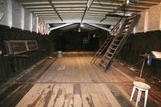 houseboat barge interior