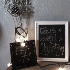 Chalkboard framed for entryway table?
