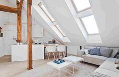 Dachschrä Einrichten wohnraum neutral zimmer dachschräge einrichten sofa dachschräge 2