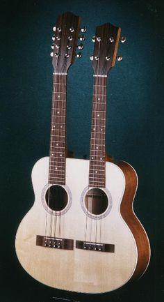 Graziano doubleneck ukulele and mandolin AAAHHHHHHHHHH!!!!!!!!!!