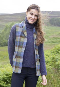 27333879f8c60 Harris Tweed Gilet by Glenalmond Tweed Company  HarrisTweed  Gilet   GlenalmondTweed Harris Tweed Waistcoat