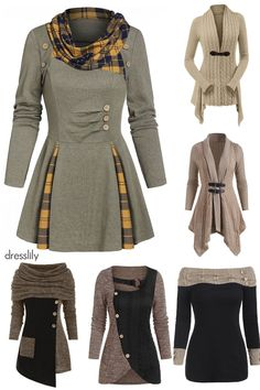 Trendy Sweaters & Cardigans for Christmas and Sales! Winter Mode Outfits, Winter Fashion Outfits, Fashion Dresses, Classy Outfits, Trendy Outfits, Gray Outfits, Female Outfits, Modelos Fashion, Cute Clothes For Women