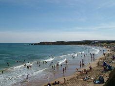 Torquay Surf Beach, Torquay, Devon, England