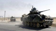 Syrien meldet die Verletzung der Souveränität und dass die türkischen…