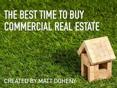 """Commercial property offers better value than its residential counterpart. However, despite the relative ease of investing in commercial property, strategic thinking helps maximize the value of one's purchase. Like with any other type of investment, the aim is to """"buy low and sell high."""" So when is the best time to buy low? The answer lies in the real estate value cycle. Learn more in this presentation by Matt Doheny."""
