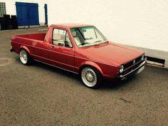 Volkswagen Golf Mk1, Vw Mk1, Volkswagen Models, Vw Rabbit Pickup, Vw Pickup, Vw Caddy Mk1, Golf 1, Vw Cars, Motorhome
