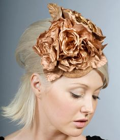 Fabric Flower Fascinator