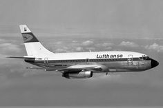 D-ABEC was the first 737-100 delivered to Lufthansa in November 1967. (Credits: Chris Sloan)