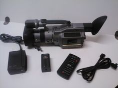 The VX1000 is considered to be a professional camcorder and, though it was released many years ago, remains one of the best #digital camcorders being sold. The c...