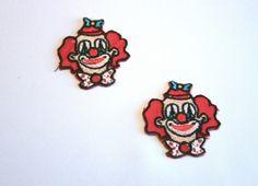Bügelbild Clownkopf klein / Party-clown.de 1,99 € Enamel, Party, Carnivals, Enamels, Vitreous Enamel, Receptions, Direct Sales Party, Glaze
