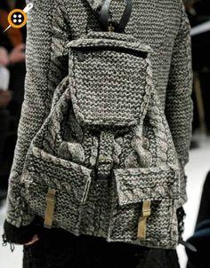 Örgü sırt çantası modelleri