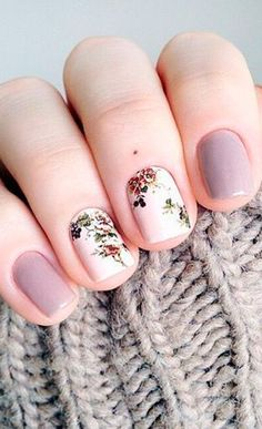 101 Pretty Winter Nails Art Design Inspirations