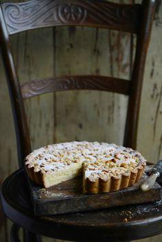 Torta della Nonna - Italian 'Grandma's cake' with lemon custard and pine nuts: From the Kitchen