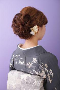 大人の女性から可愛い系まで!訪問着に合うヘアスタイルをご紹介の画像