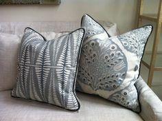 Galbraith and Paul - custom pillows in Fern and Lotus | Pillows ...