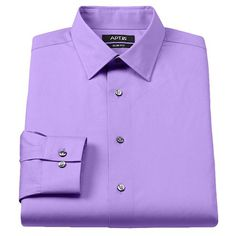Apt. 9® Slim-Fit Stretch Spread-Collar Dress Shirt - Men