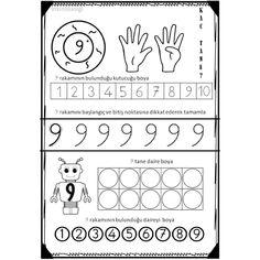 Numbers Preschool, Math Numbers, Writing Numbers, Tracing Worksheets, Kindergarten Worksheets, Preschool Activities, Number Writing Practice, Subitizing, Simple Math